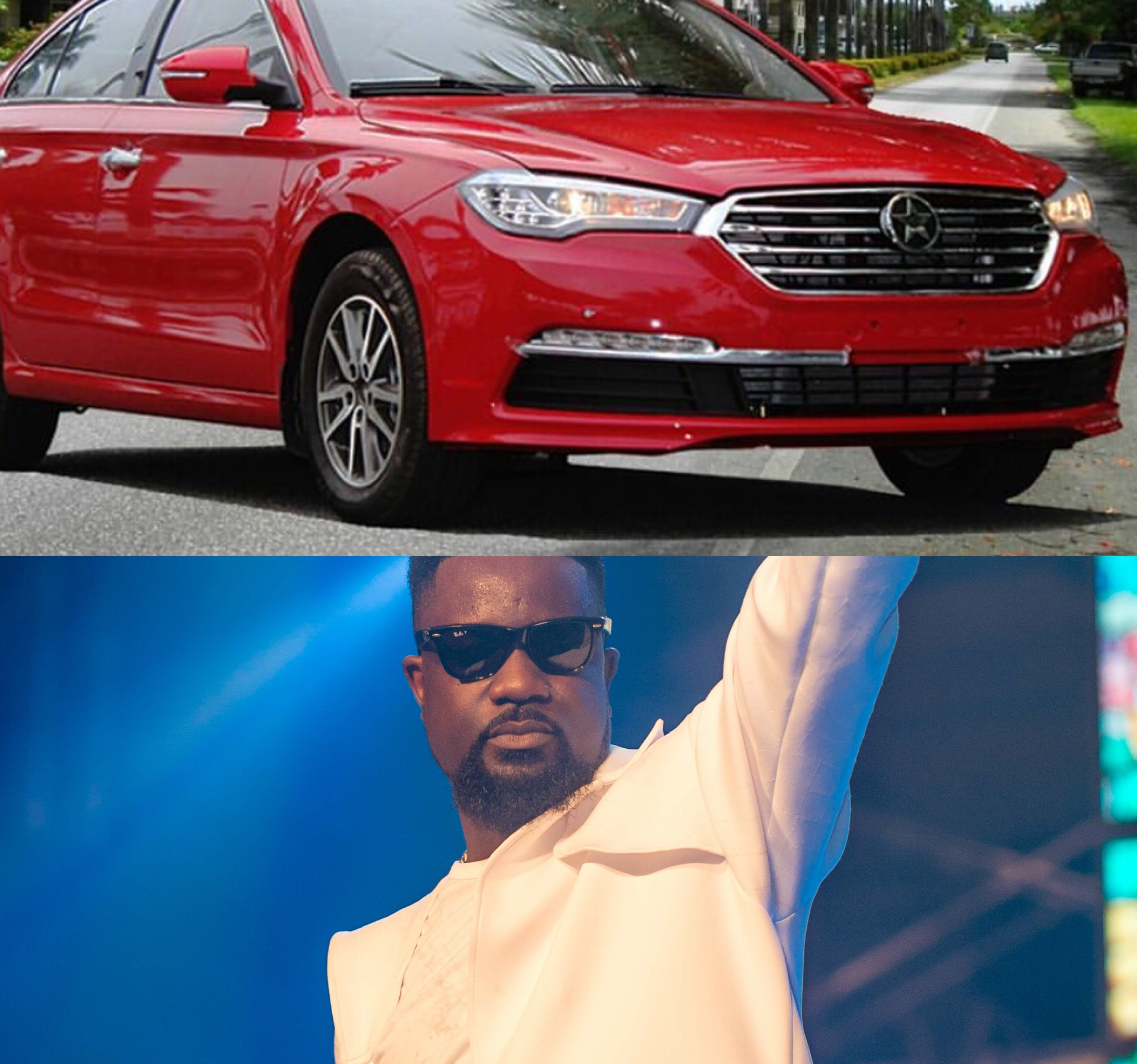 I WANT TO DRIVE ONE OF YOUR CARS SARKODIE TELLS KANTANKA.