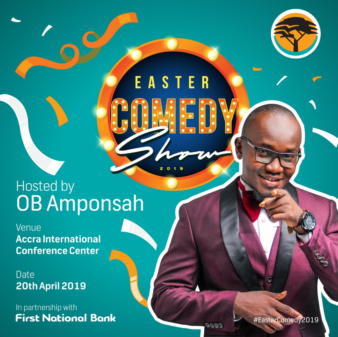 OB AMPONSAH TO HOST EASTER COMEDY SHOW 2019