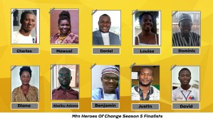 10 MTN HEROES OF CHANGE FINALISTS NAMED