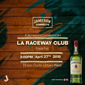 Jameson Connects Ghana: The biggest Whiskey Experience in Accra.