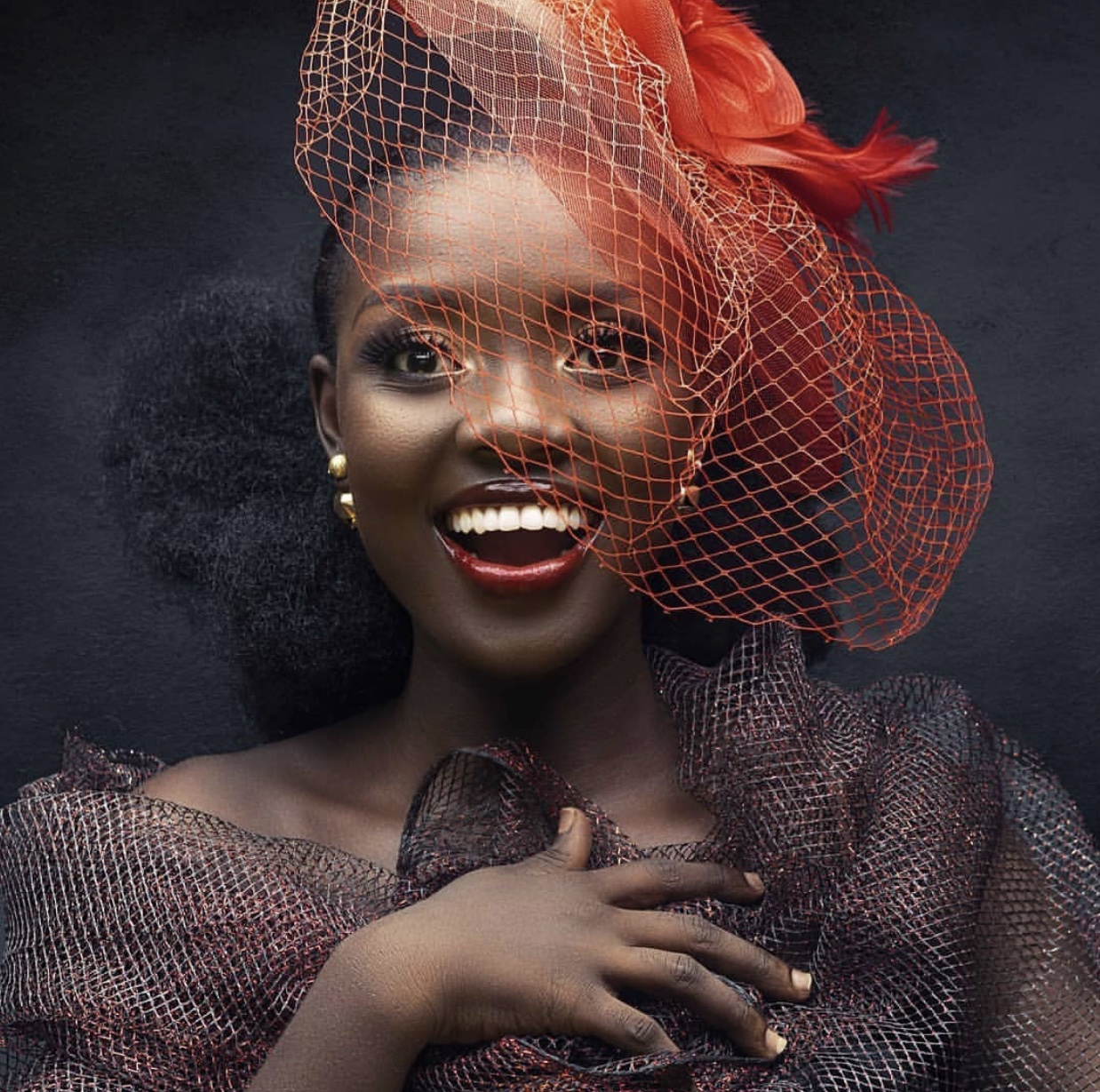 Blackcherrygh wins best editorial makeup artist at Ghana Makeup awards