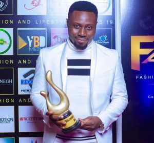 Kwaku Delicious awarded Discovery of the Year in Media at Fashion And Lifestyle Awards 2019