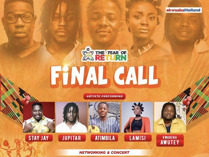 "Stay Jay and Others to Perform at ""Final Call"" Concert in Amsterdam"
