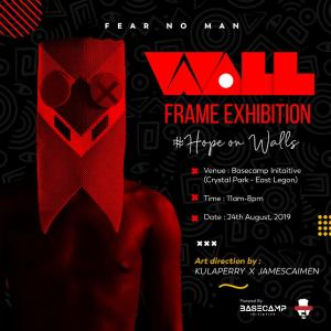 HOPE ON WALLS FRAMES EXHIBITION BY KULAPERRY X JAMES CAIMEN
