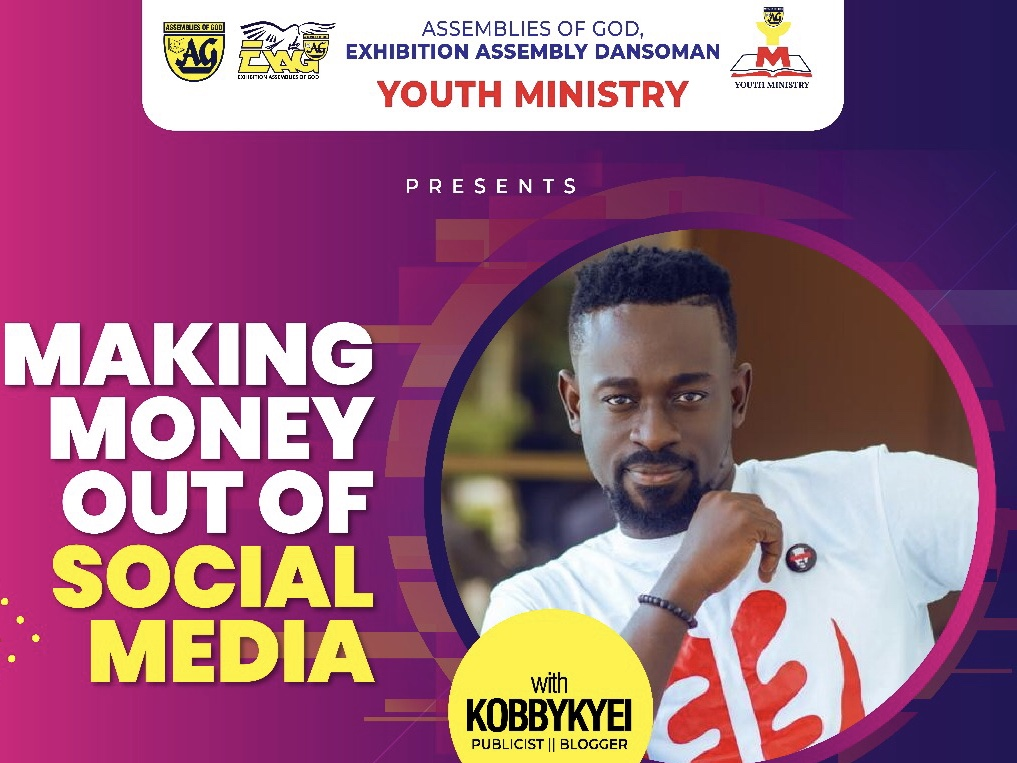 Kobby Kyei to Speak at Dansoman AG Church on Social Media
