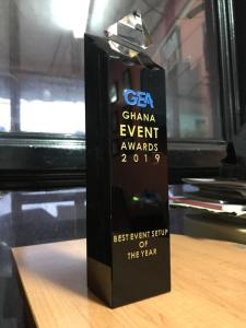 Event Factory picks up Two Awards at the Ghana Events Awards