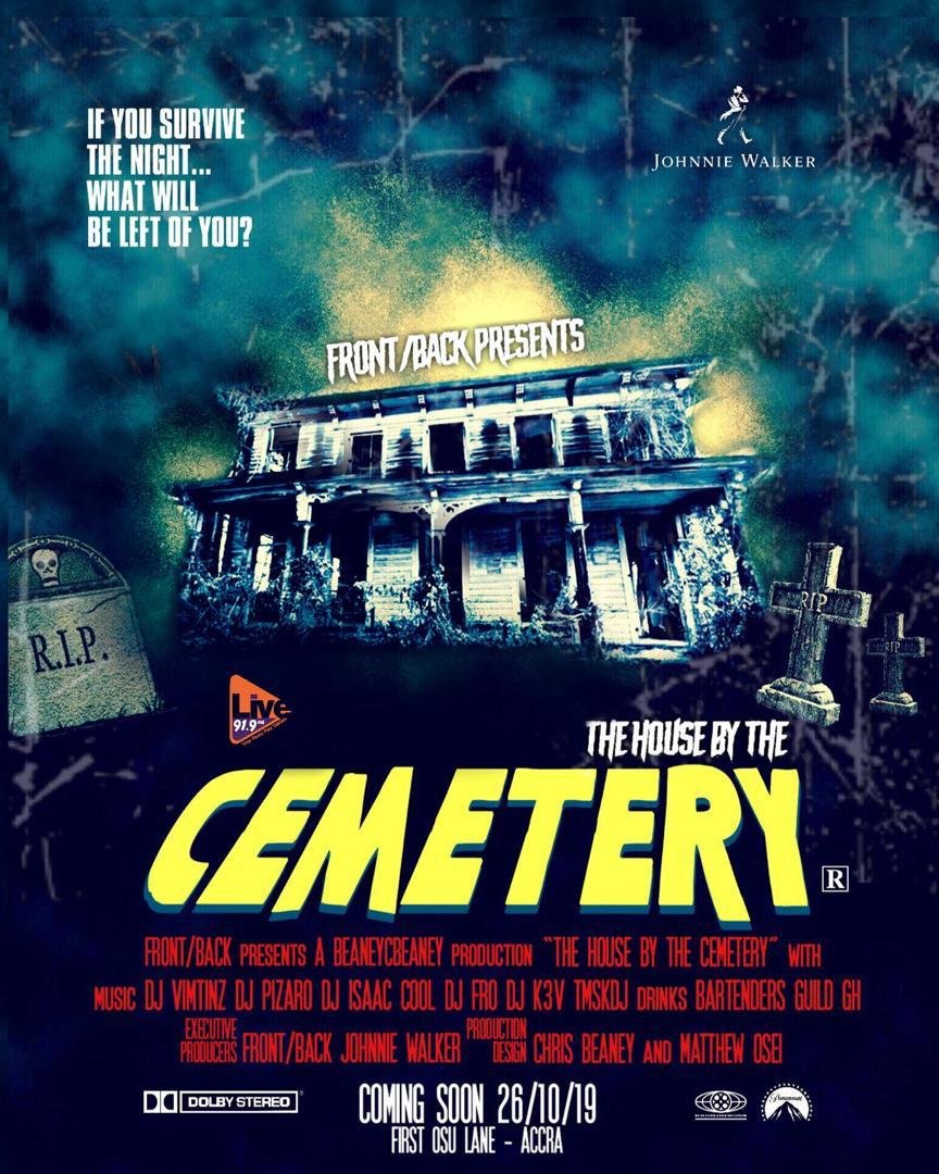 "Front/Back Lounge presents ""The House by the Cemetery"""
