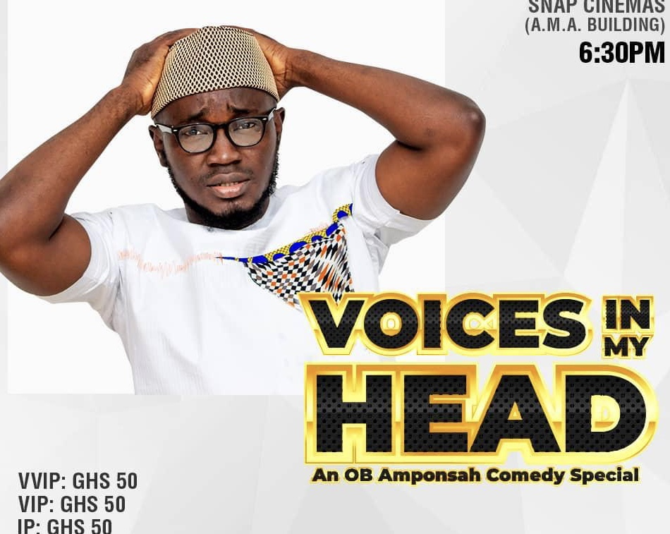 """Voices in my Head"", An OB Amponsah Comedy Special"