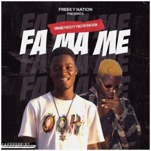 Qwame Freeky ft mistafrikxion – Fa Ma Me[Mixed By Daremamebe