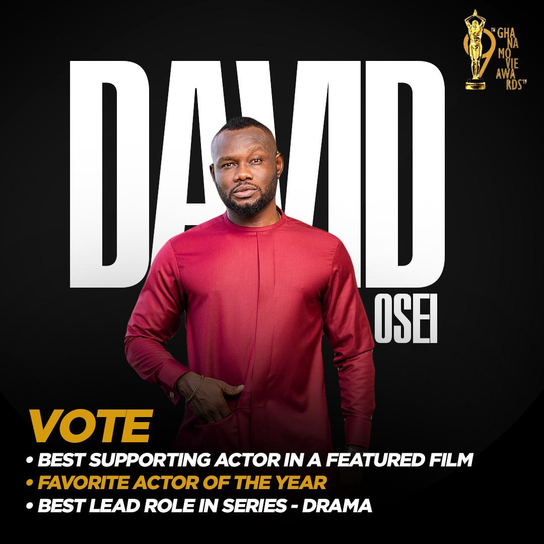 GMA Nominates Prince David Osei In Three Categories
