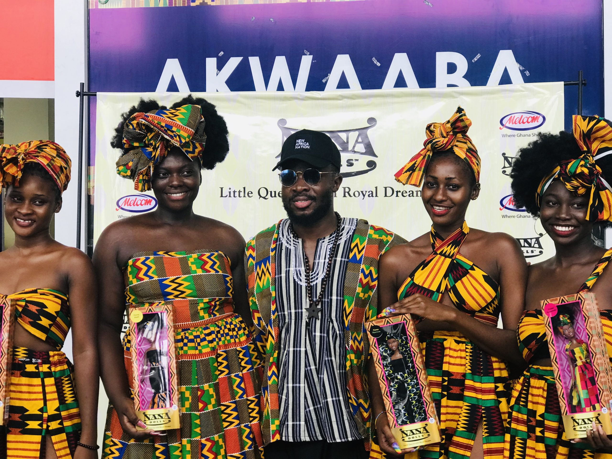 FUSE ODG'S  NANA DOLLS CAN NOW BE FOUND IN ALL MELCOM STORES ACROSS GHANA