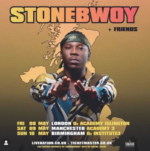 StoneBwoy Set To Headline O2 Institute 3