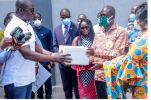 COVID-19: KASAPREKO COMPANY LIMITED COMMENDS HON. BRYAN ACHEAMPONG
