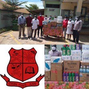 COVID-19: MOBA Donates PPE to Cape Coast Metro Hospital