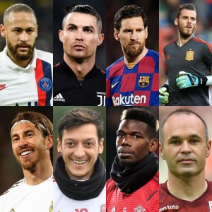 Forbes' Top 14 Highest-Paid Footballers In The World In 2020
