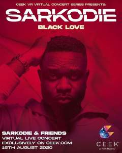 """We're About To Make History"" – Sarkodie On ""Black Love Virtual Concert"""