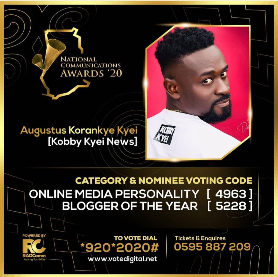 This Is How To Vote For Kobby Kyei In The National Communication Awards