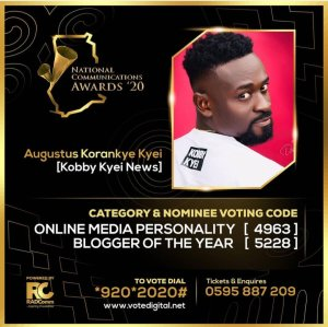Read more about the article This Is How To Vote For Kobby Kyei In The National Communication Awards