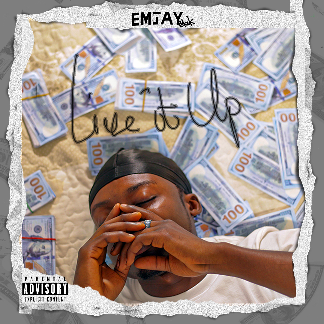 New Ghanaian Hip-hop Artist, Emjay Blak Inspires With New Song 'Live It Up'