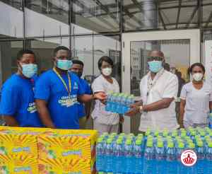Read more about the article Kasapreko Marks Val'S Day With UGMC & Ghana Infectious Disease Centre