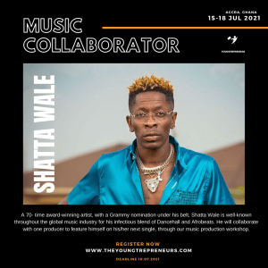 Youngtrepreneurs Team Up With Grammy-nominated Shatta Wale, Mix Master Garzy, Others For Next Music Production Workshop