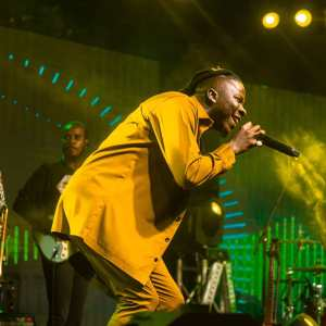 With Three Different Stages; Stonebwoy Makes History With 'Anloga Junction' Album Virtual Concert