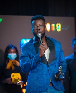 Read more about the article Kojo Manuel Wins Event Hypeman of the Year Award At GEA 21