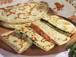 Italienske madbrød og indbagte pizzaer