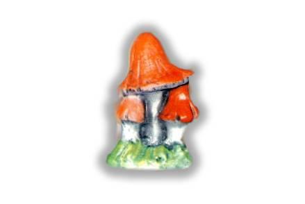 Pappy Small Sitting Mushroom Gnome Unpainted Ceramic Figurine
