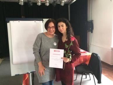 Z festiwalową szefową Ewą Tyralik