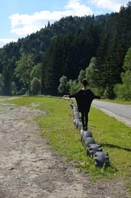Balans na spacerze