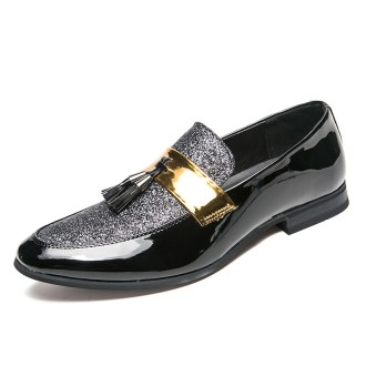 Classy Fashion pointed toe leather business shoe for men