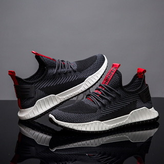 Men Breathable Casual Outdoor Running Shoe