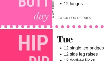 30 Day Workout Plan for Beginners (+ Easy Free Printable