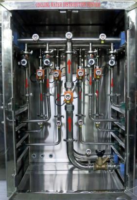DUK ultrasonic flow meter, TDA temperature indicator / transmitter, PDA pressure indicator / transmitter