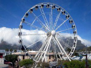 عين كيب تاون جنوب افريقيا أو الكبسولة (The Cape Wheel )