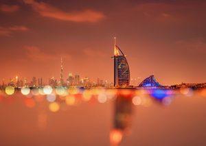 أحد معالم دولة الامارات فندق برج العرب