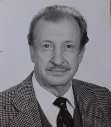 Slavko Batis, renowned confectioner. Photo: the archive of the Batis family.