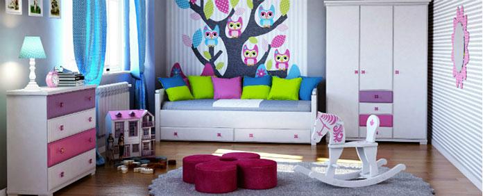 Kolorowe meble w dziecięcym pokoju – zamiast monotonnej bieli