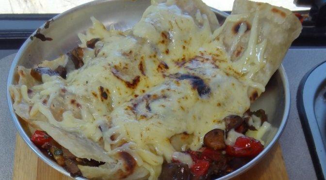 Enchiladas mit Gemüse