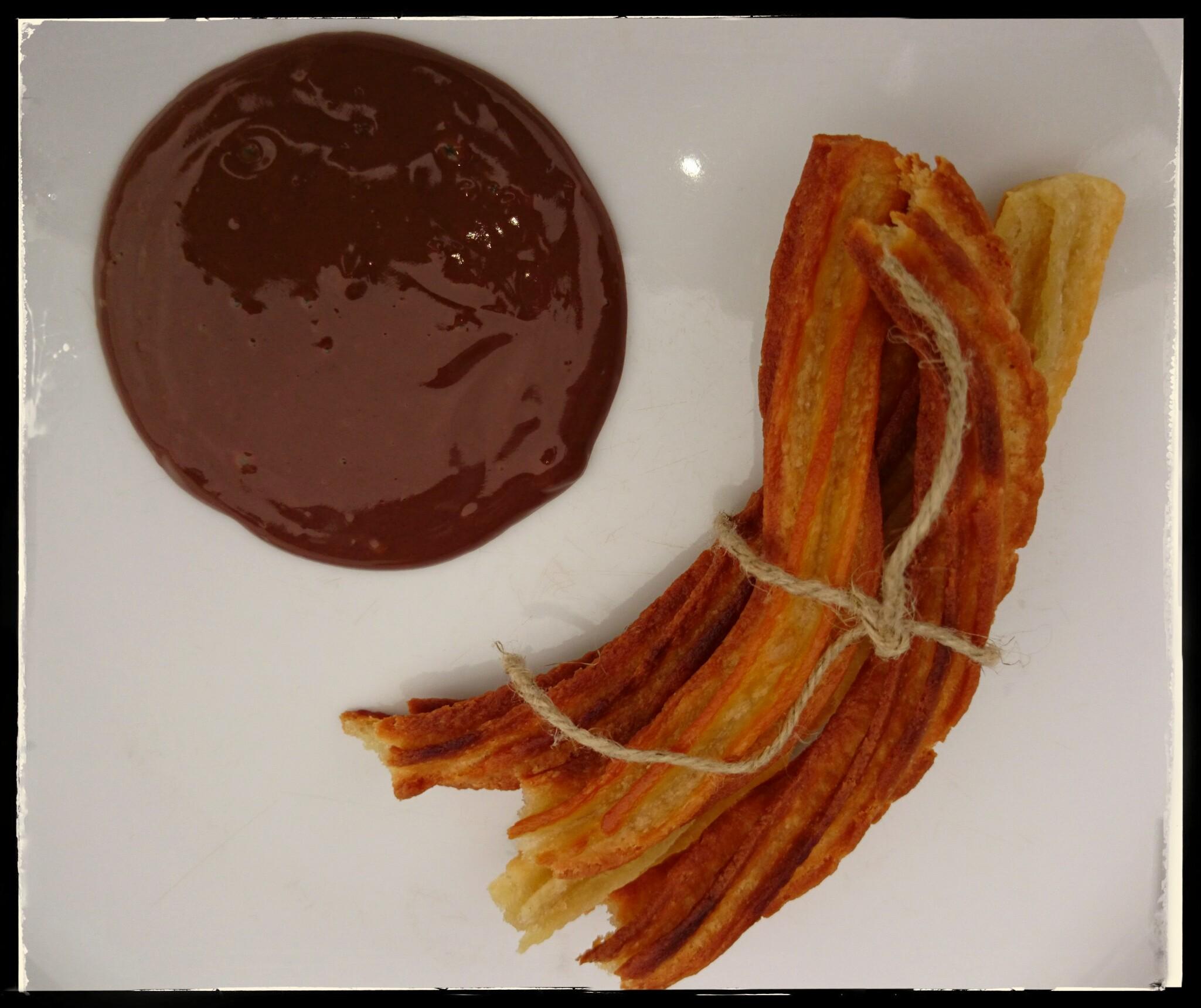 chi chis churros con chocolat veganes rezept aus dem wohnmobil kochen und backen im. Black Bedroom Furniture Sets. Home Design Ideas