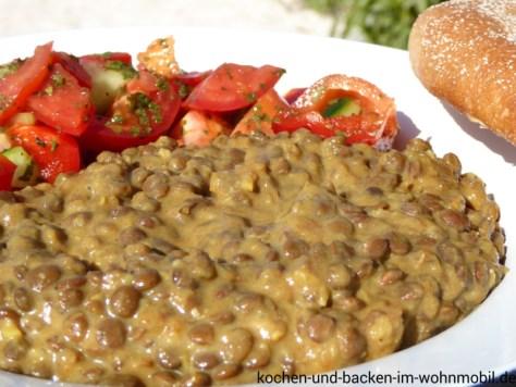 Linsencurry http://www.kochen-und-backen-im-wohnmobil.de