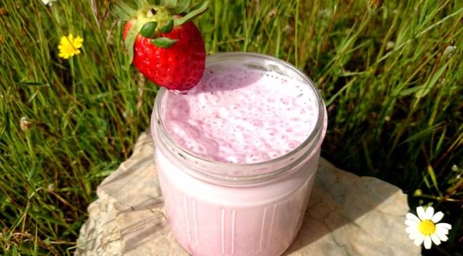 Erdbeer-Milchshake
