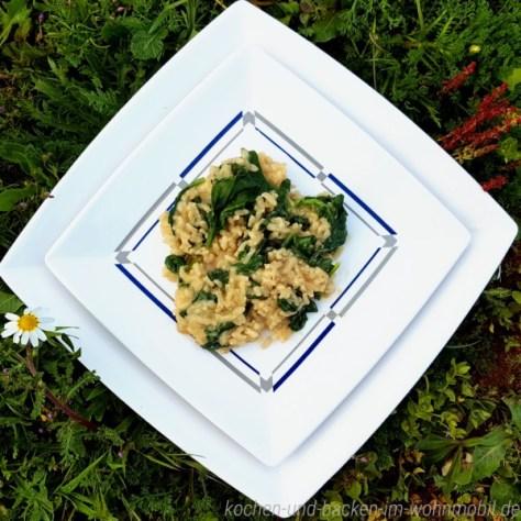 Risotto mit Spinat kochen-und-backen-im-wohnmobil.de