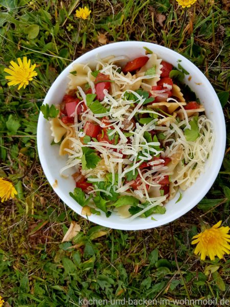 nach Jamie Oliver: Pasta Peperonata