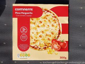 Omnia Backofen: Tiefkühlpizza