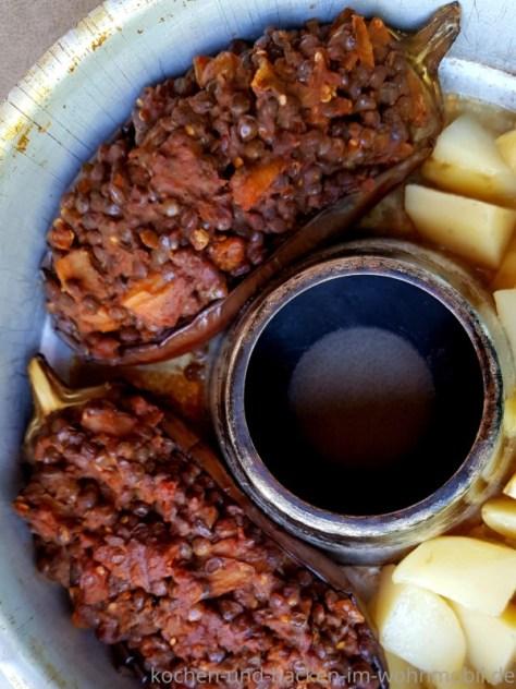 Omnia Rezept: gefüllte Auberginen