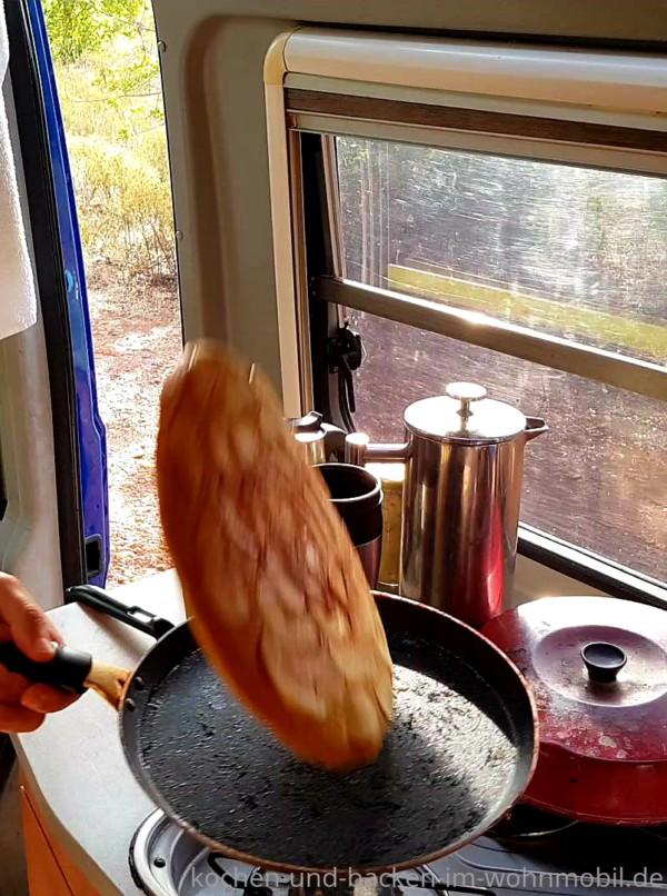 Schnelles Rezept für Apfelpfannkuchen