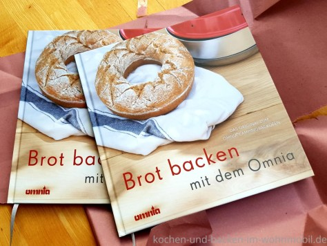 Brot backen im Omnia: Backbuch