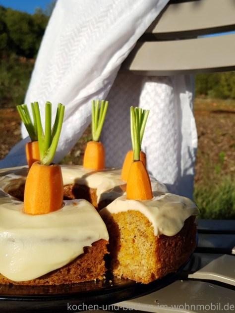 Omnia Backofen: Möhrenkuchen